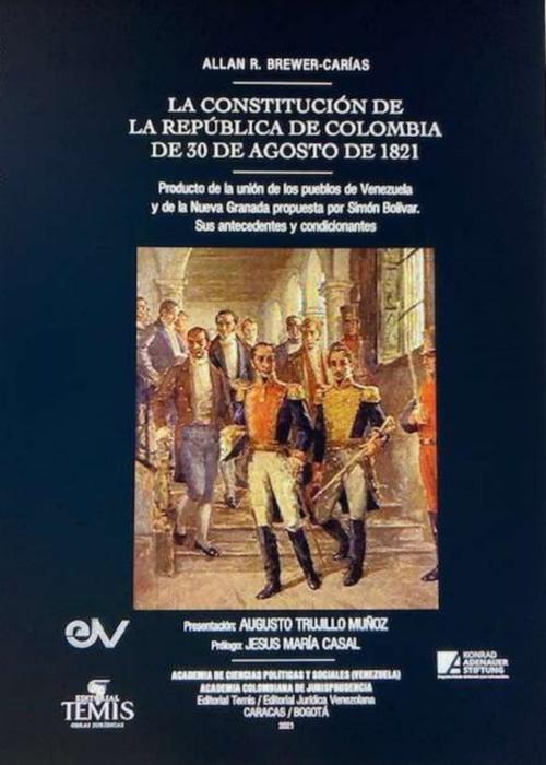 La Constitución De La Republica de Colombia (Portada)