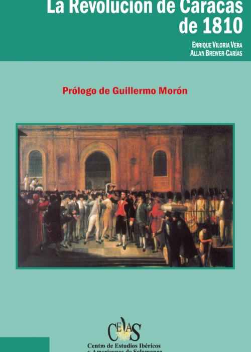 La Revolución de Caracas de 1810 (Portada)